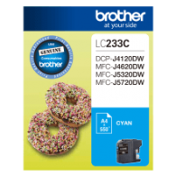 Brother LC-233 Cyan Ink Cartridge
