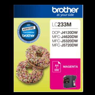 Brother LC-233 Magenta Ink Cartridge