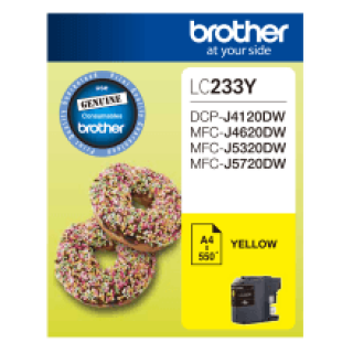 Brother LC-233 Yellow Ink Cartridge