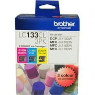 Brother LC-133 TriColour Ink Cartridge Pack