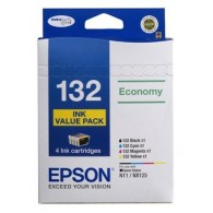 Epson No. 132 Ink Cartridge Value Pack